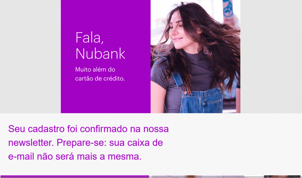 posicionamento de marca nubank email marketing
